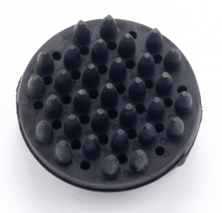 Lincoln Circular Rubber Curry Comb -  image 1