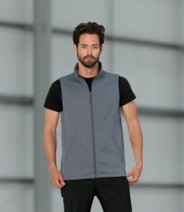 041M Russell Smart Soft Shell Gilet  -  image 1