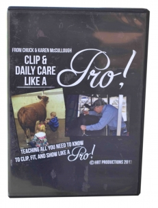 Chuck McCullough's Clip & Daily Care - Like a Pro DVD -  image 1
