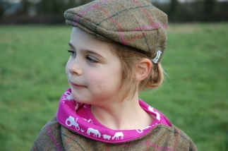 Flat Cap in Bark and Blossom -  image 5