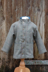 Tweed Jacket in Moss Check -  image 1