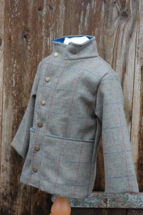 Tweed Jacket in Moss Check -  image 3