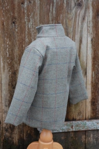 Tweed Jacket in Moss Check -  image 4