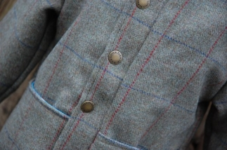 Tweed Jacket in Moss Check -  image 5