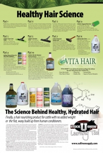 Sullivan's Healthy Hair Science Poster -  image 1