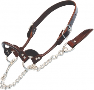 Sullivan's Classic Leather Sheep Show Halters -  image 2