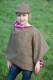 Tweed Wrap with Farm Print Lining - image 3