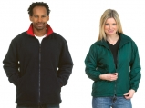 UC605 UNEEK Premium Reversible Fleece Jacket