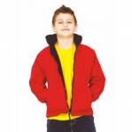 UC606 UNEEK Children's Premium Reversible Fleece Jacket