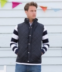 FR903 Front Row Diamond Quilted Jacket