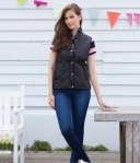 FR904 Front Row Ladies Quilted Jacket