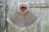 Luxury Tweed Hooded Cape