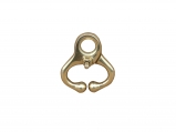 Brass Self-Locking Nose Lead 62mm - Calf