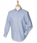 Henbury Mens Long Sleeve Classic Oxford Shirt